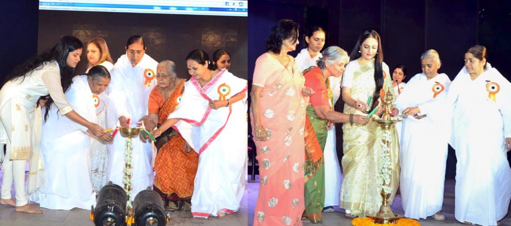 Pune:Women's day program at Shivaji Nagar ( Gracy Singh)